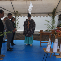 Ground Breaking Ceremony (Jichinsai)